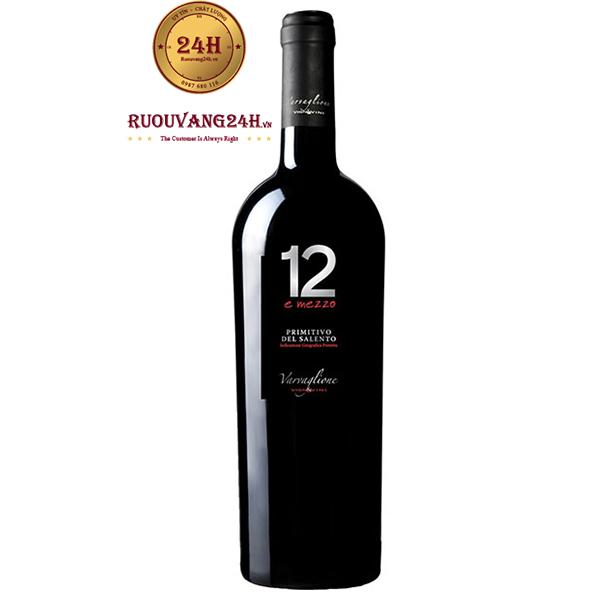 Rượu Vang 12 E Mezzo Primitivo del Salento