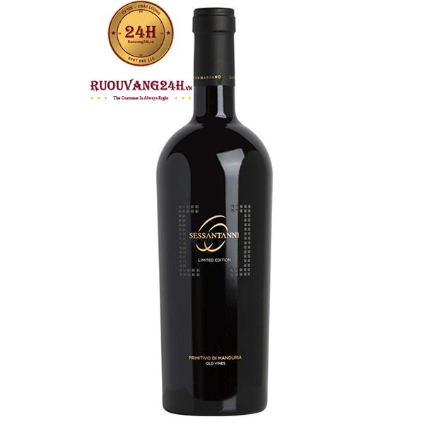 RượuVang 60 Sessantanni Limited Edition