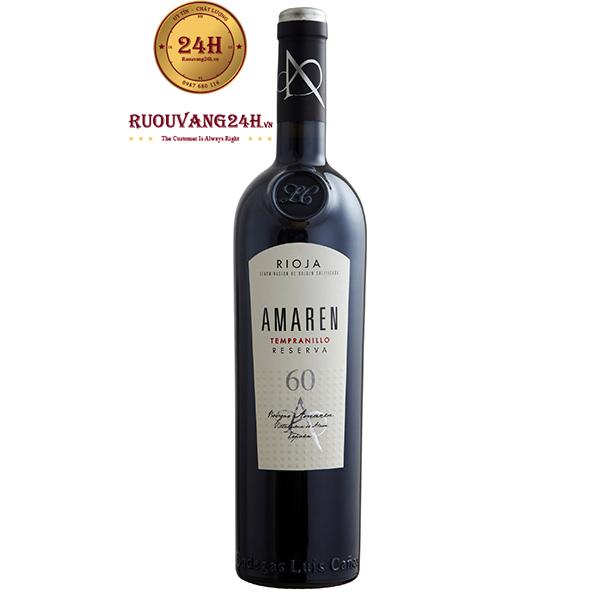 Rượu Vang Amaren 60