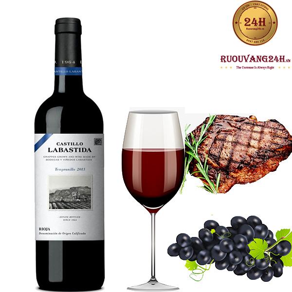Rượu Vang Castillo Labastida Rioja DOC Tempranillo