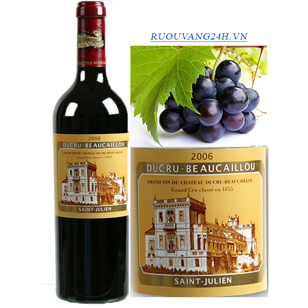 Rượu Vang Chateau Ducru Beaucaillou