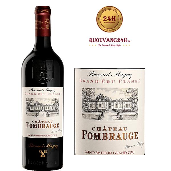 Rượu Vang Chateau Fombrauge