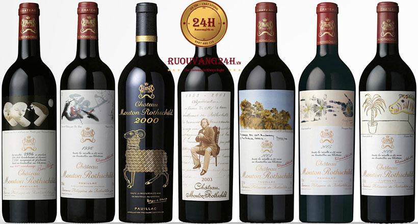 Rượu Vang Chateau Mouton Rothschild