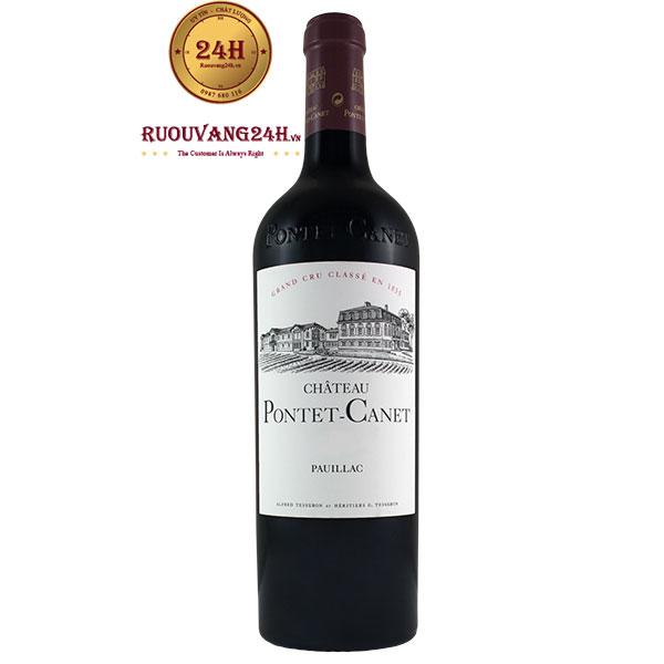Rượu Vang Chateau Pontet Canet