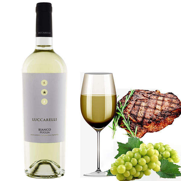 Rượu Vang Luccarelli Bianco