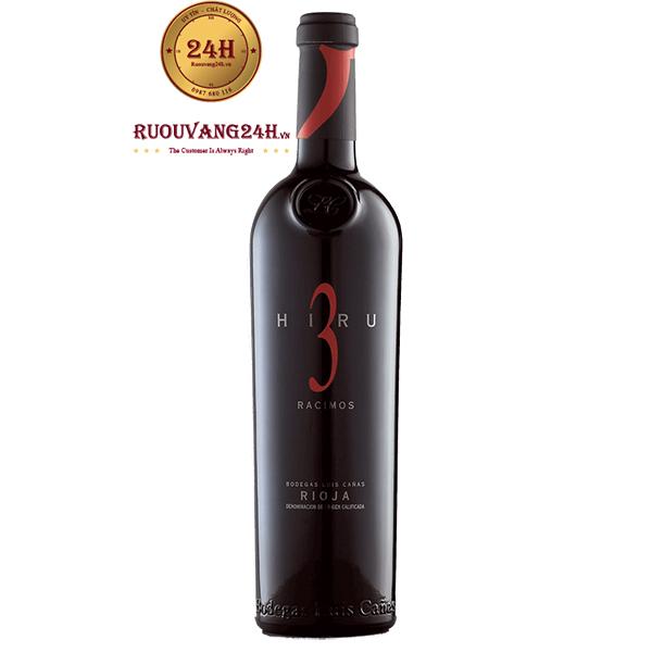 Rượu Vang Luis Canas Hiru 3 Racimos