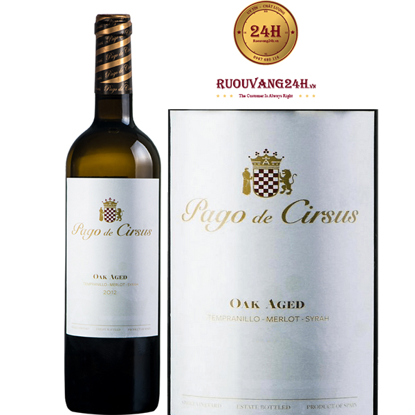 Rượu Vang Pago de Cirsus Oak Aged