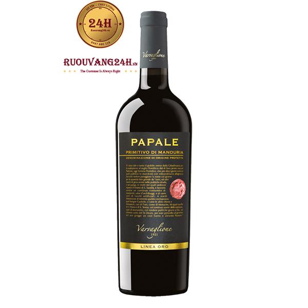 Rượu Vang Papale Primitivo – Niềm Tự Hào Của Vang Ý