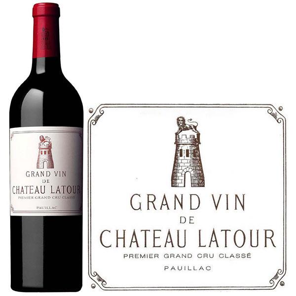 Rượu Vang Pháp Chateau Latour
