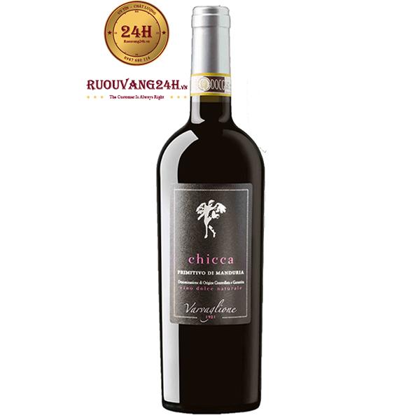 Rượu Vang CHICCA Primitivo Di Manduria 19 Độ