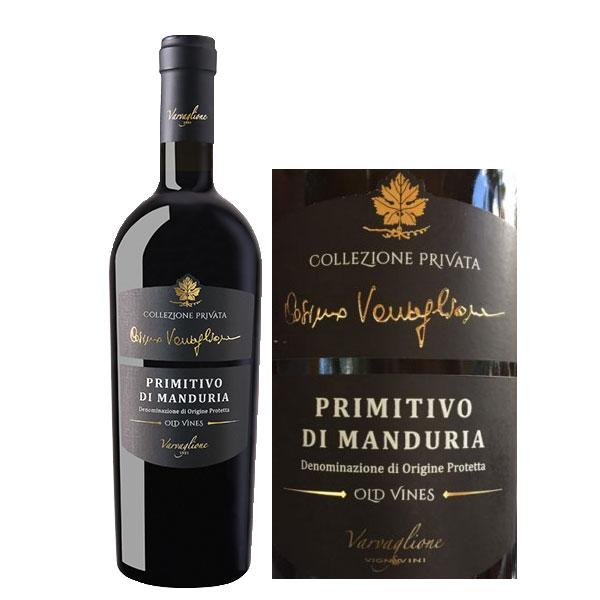 Rượu Vang Collezione Privata Primitivo di Manduria