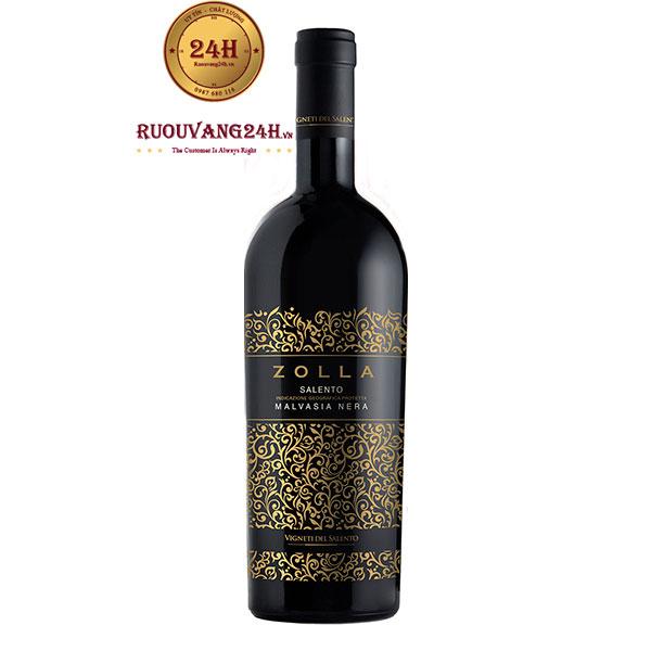 Rượu Vang Zolla Salento Malvasia Nera