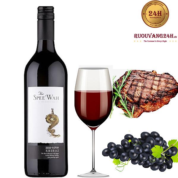 Rượu Vang Spee Wah' Deep River Shiraz