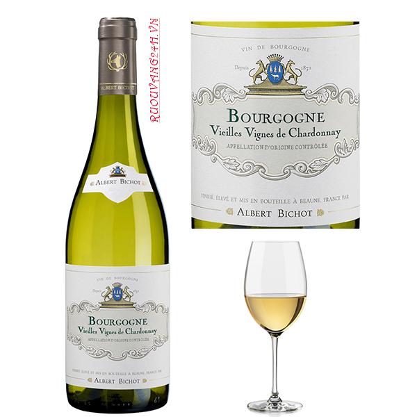 Rượu VangAlbert Bichot Bourgogne Vieilles Vignes