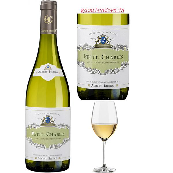 Rượu Vang Albert Bichot Petit-Chablis