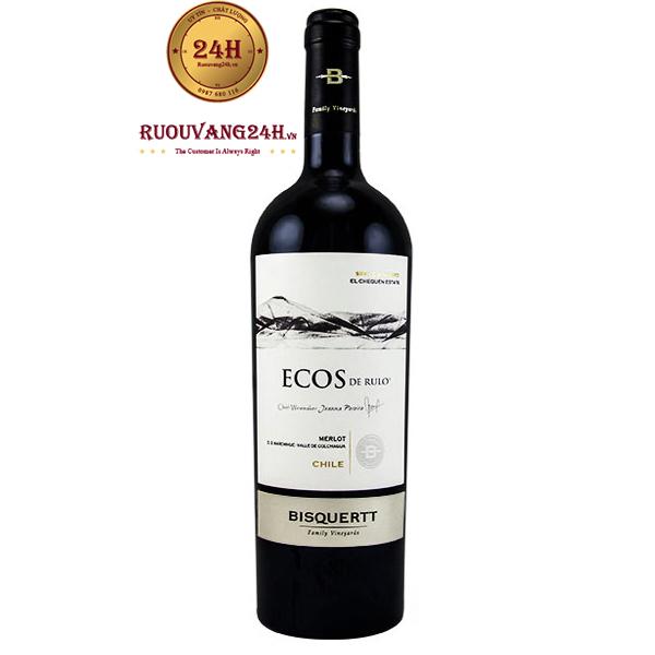 Rượu Vang Chile Single Vineyard Ecos de Rulo Merlot