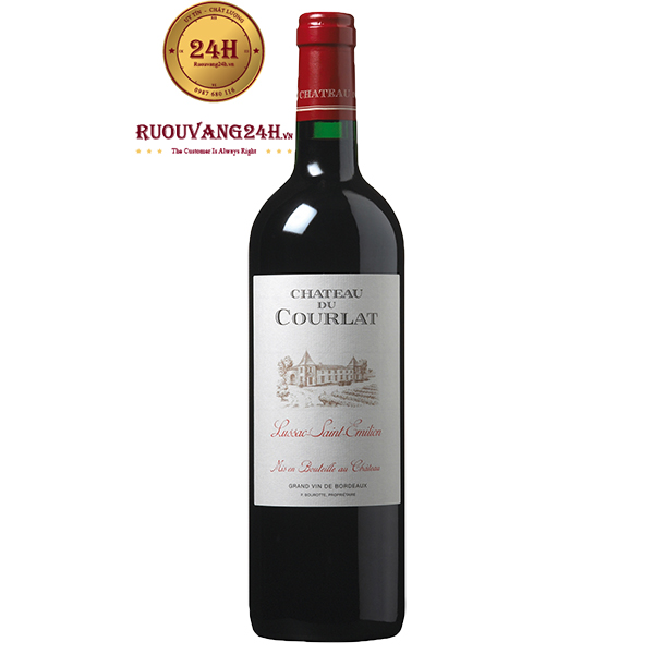 Rượu Vang Château Du Courlat Lussac Saint-Emilion