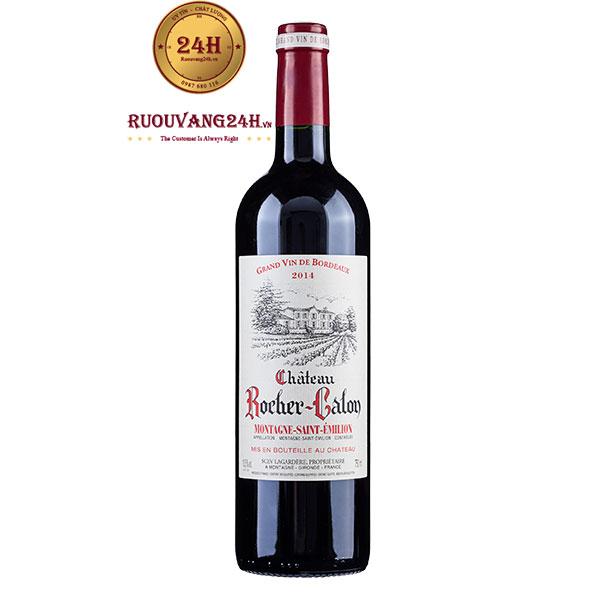Rượu Vang Château Rocher Calon Montagne Saint Emilion