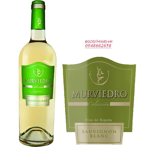 Rượu Vang Murviedro Colección Sauvignon Blanc