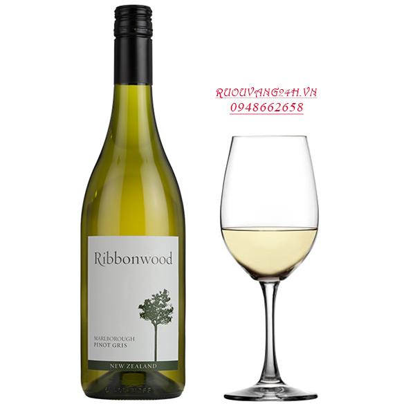 Rượu Vang Ribonwood Pinot Gris
