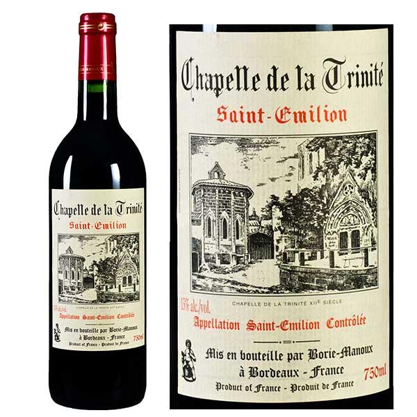 Rượu vang đỏ Chapelle de la Trinite