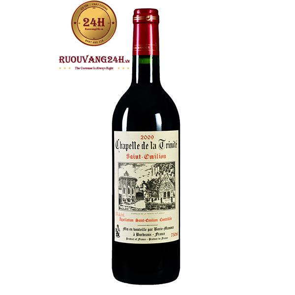 Rượu Vang Chapelle de la Trinite