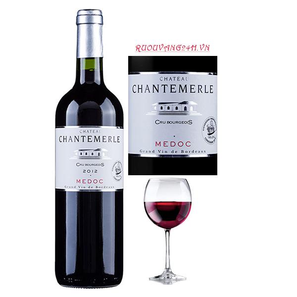 Rượu vang Château Chantemerle Cru Bourgeois