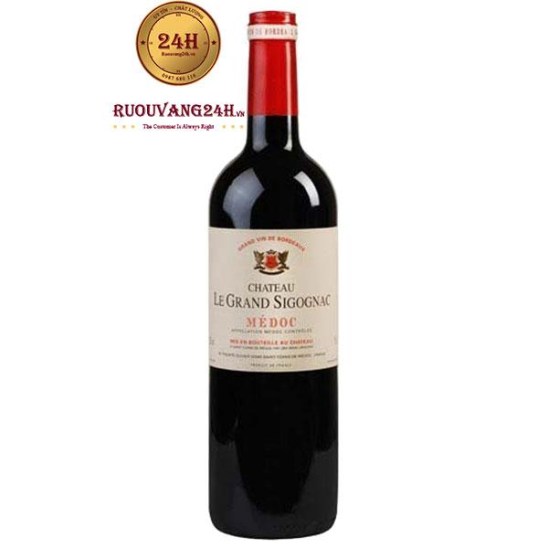 Rượu vangChâteau Le Grand Sigognac Médoc