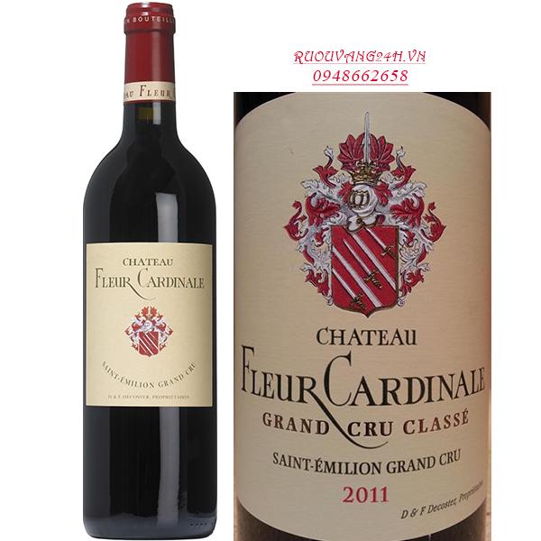 Rượu vang Chateau Fleur Cardinale