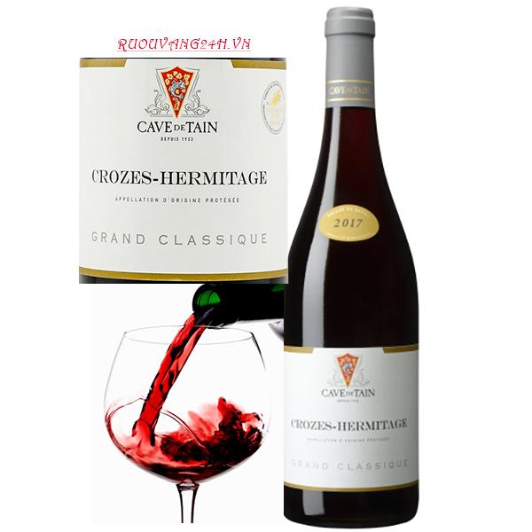 Rượu vang Crozes- Hermitage Grand Classique red 3000ml