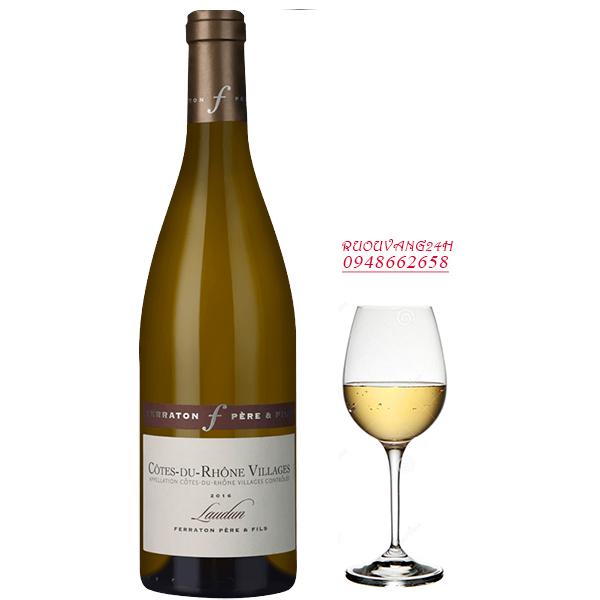 Rượu vang Ferraton Pere & Fils Cotes du Rhone Laudun