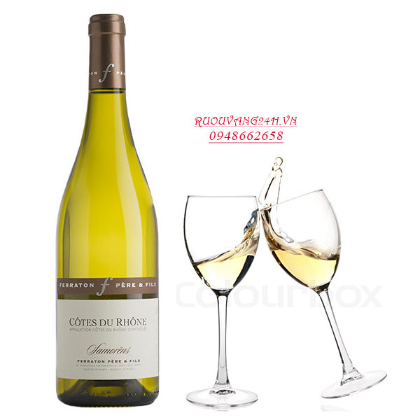 Rượu vangFerraton Pere & Fils Cotes du Rhone Samorens Blanc