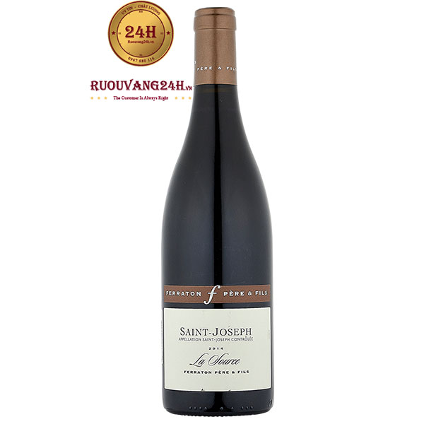 Rượu vang Ferraton Pere & Fils Saint-Joseph La Source