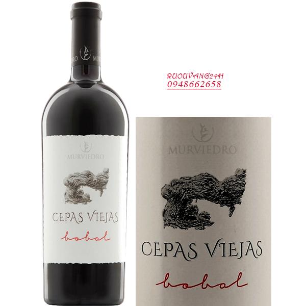 Rượu vang Murviedro Cepas Viejas Red Bobal