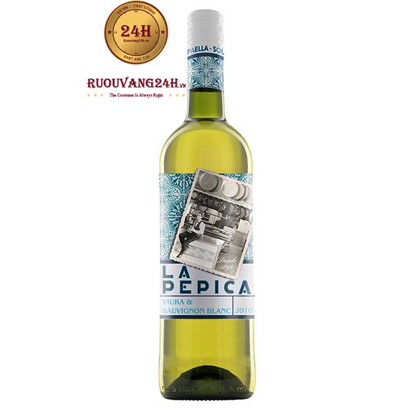 Rượu vang Murviedro La Pepica Viura Sauvignon Blanc