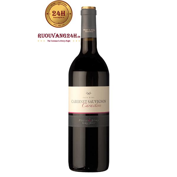 Rượu vang Pierre & Remy Gauthier Cabernet Sauvignon