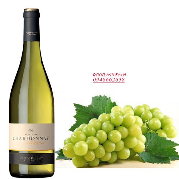 Rượu vang Pierre & Remy Gauthier Chardonnay