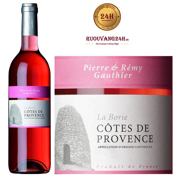 Rượu Vang Pierre & Remy Gautheir Rose Cotes De Provence