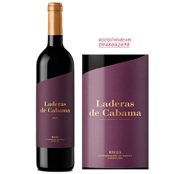 Rượu vang Valenciso Laderas de Cabama