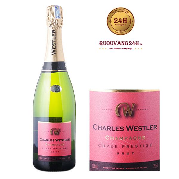 Rượu Champagne Charles Westler Cuvée Prestige