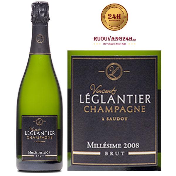 Rượu Champagne Vincent Lèglantier