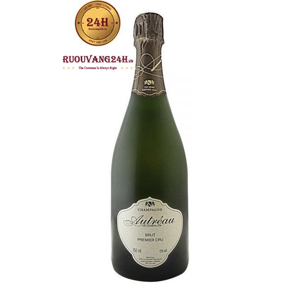 Rượu Champagne Autreau Brut Premier Cru
