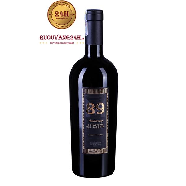 Rượu Vang 89 Anniversary Primitivo