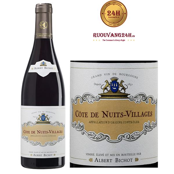 Rượu Vang Albert Bichot Côte De Nuits-Villages