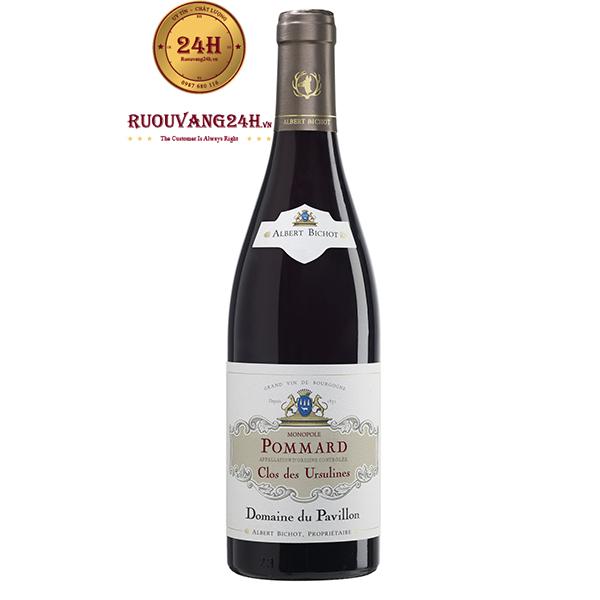 Rượu Vang Albert Bichot Pommard Clos des Ursulines