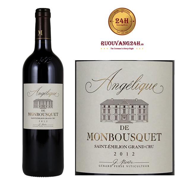 Rượu Vang Angelique de Monbousquet