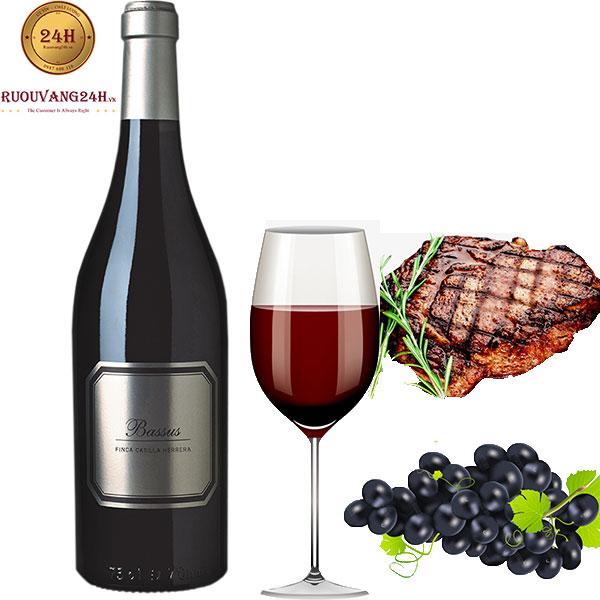 Rượu Vang Bassus Finca Casilla Herrera
