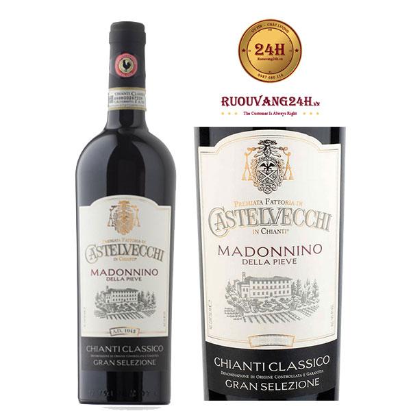 Rượu Vang Castelvecchi Gran Selezione Chianti Classico Madonnino