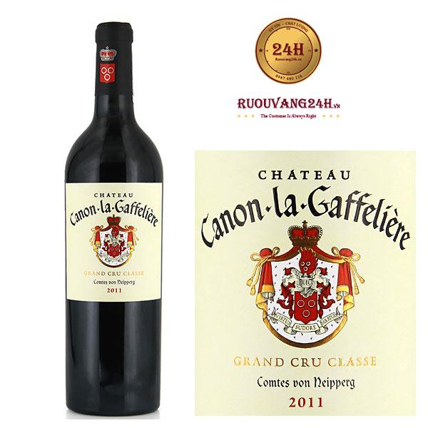 Rượu Vang Chateau Canon La Gaffeliere rand Cru