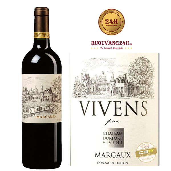 Rượu Vang Chateau Durfort Viven